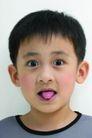 儿童广告0195,儿童广告,亲子教育,伸舌头 小男孩 小帅哥