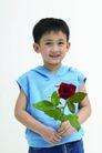 儿童广告0198,儿童广告,亲子教育,戴帽背心 蓝色小背心 新鲜