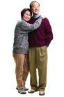 家庭亲情0022,家庭亲情,亲子教育,老年 夫妻 甜蜜