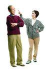 家庭亲情0024,家庭亲情,亲子教育,老伴 聊天 手指