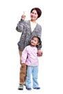 家庭亲情0035,家庭亲情,亲子教育,母亲 幼年 孙女