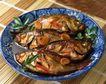日式美食0056,日式美食,美食,煎鱼 色香味俱全 绿叶装饰