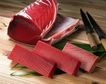 日式美食0058,日式美食,美食,尖刀 砧板 鱼块