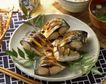 日式美食0059,日式美食,美食,圆盘 煎鱼 筷子