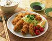 日式美食0061,日式美食,美食,鸡腿 筷子 米饭