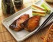 日式美食0065,日式美食,美食,竹筷 瓷盘 鱼肉