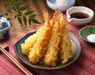 日式美食0074,日式美食,美食,香鱼 包裹 面粉