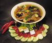 美食大观0182,美食大观,美食,黄瓜片 爆椒 熟食