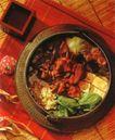 美食大观0195,美食大观,美食,铁板 金针菇 青菜叶