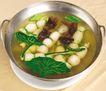 五味俱全0122,五味俱全,美食,干戈 火锅 汤料 青菜 白丸