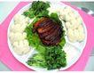 五味俱全0129,五味俱全,美食,青菜 面包 馒头 腊肉 小白菜