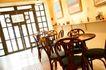 餐饮空间0027,餐饮空间,美食,餐桌 大门 圆桌