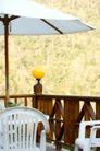 餐饮空间0059,餐饮空间,美食,餐厅特景 木栏杆 圆形灯
