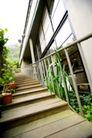 餐饮空间0065,餐饮空间,美食,台阶 栏杆 绿叶