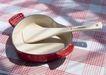 餐具世界0074,餐具世界,美食,心形 瓷锅 木勺
