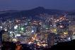城市夜景0024,城市夜景,旅游风光,晚上 山城 夜景