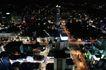 城市夜景0056,城市夜景,旅游风光,夜景俯拍 万家灯火 大街