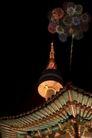 城市夜景0063,城市夜景,旅游风光,烟花 庆祝 天空