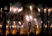 灯火阑珊0018,灯火阑珊,旅游风光,烟花 燃放 散落