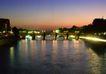 灯火阑珊0021,灯火阑珊,旅游风光,河流 石桥 景观
