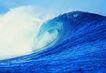 波浪0050,波浪,海洋风情,蓝色的海浪