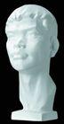 石膏像0046,石膏像,古典艺术,头部