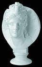 石膏像0052,石膏像,古典艺术,