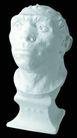 石膏像0064,石膏像,古典艺术,猿人 模型 肖像