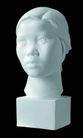 石膏像0076,石膏像,古典艺术,女子 头像 素描