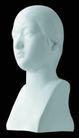 石膏像0079,石膏像,古典艺术,富态 面部 表情