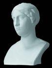 石膏像0082,石膏像,古典艺术,石像 艺术 珍藏