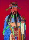 典藏文化0046,典藏文化,中华文化,彩色神像