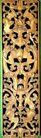 典藏文化0098,典藏文化,中华文化,木板 刻纹 花纹