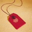 中国结0058,中国结,中华文化,了解中国 红布袋 中国结装饰