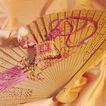 中国结0062,中国结,中华文化,纸扇 挂坠 饰品