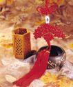 中国结0066,中国结,中华文化,笔筒 钵盂 中国结