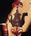 中国结0086,中国结,中华文化,茶道 茶具 情结