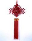 中国结0094,中国结,中华文化,喜色 大红 工艺品