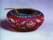 古典瓷器0172,古典瓷器,中华文化,中华瑰宝 古瓷 深红底色