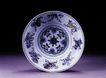 古典瓷器0174,古典瓷器,中华文化,圆盘 立式 青花瓷
