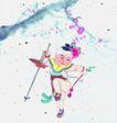 仕女图0066,仕女图,中华文化,年画 小孩 可爱