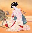 仕女图0095,仕女图,中华文化,女工 刺绣 服饰