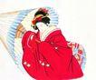 仕女图0101,仕女图,中华文化,古典美女 古装 纸伞