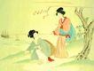 仕女图0107,仕女图,中华文化,