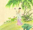 仕女图0110,仕女图,中华文化,