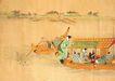 仕女图0114,仕女图,中华文化,船只 仕女 同船渡