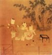 人物名画0044,人物名画,中华文化,顽童