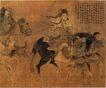 人物名画0048,人物名画,中华文化,骑马