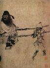 人物名画0066,人物名画,中华文化,钟馗 小鬼 轿子