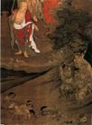 人物名画0067,人物名画,中华文化,佛画 罗汉 弥勒